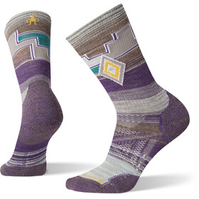Smartwool PhD Outdoor Light Pattern Mini Calcetines Mujer, mountain purple